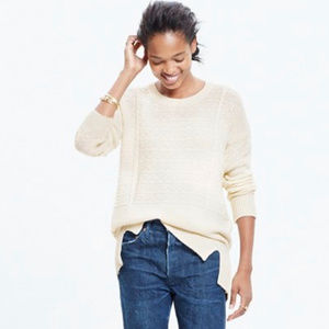 Madewell | Texture Play Pullover Sweater XS